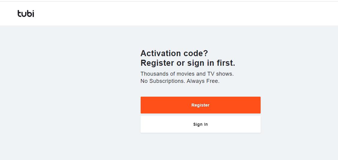 Tubi.tv/activate