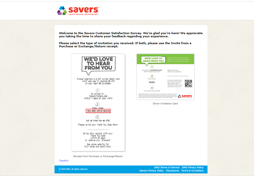 SaversListens Survey Officially
